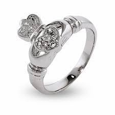 358 Best Images About Engagement Zirconia Sterling Silver Irish Claddagh Ring Eve U0027s Addiction