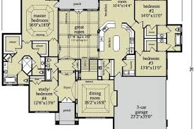ranch style floor plans open ranch style floor plans ranch house plans mediterranean