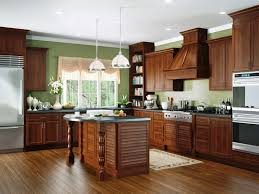 Louvered Kitchen Cabinets A Beautiful Cherry Kitchen In Cayenne Stain Most Of The Cabinets