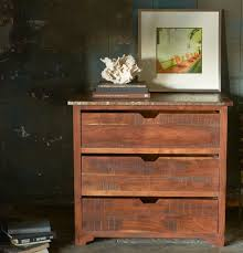coffee can top chest 3 drawer acasia wood chest of drawers