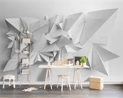 Papier Peint Salon Moderne by Online Get Cheap Triangles Papier Peint Aliexpress Com Alibaba