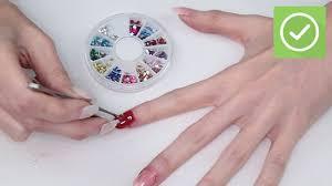 6 ways to do nail art wikihow