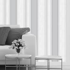 synergy stripe dove grey wallpaper vymura london