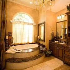 Tuscan Bathroom Design Tuscan Bathroom Design With Oval Tub And Faux Wall Paint