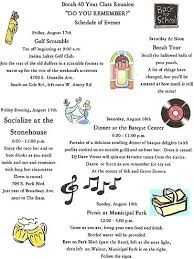 fundraising ideas for class reunions ideas for get togethers family or borah high school