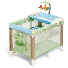fisher price changing table fisher price rainforest 3 in 1 travel cot big w