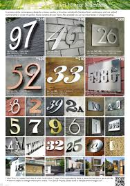 malaysia signs shop modern stainless steel house numbers
