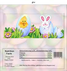 gifts that say wow free printable easter candy wrapper easter