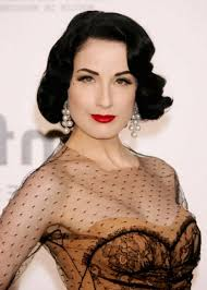 pin up hairdos long black hair vintage short pin up hairstyles side parted for thick curly hair in