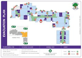 Evacuation Floor Plan Template by Emergency Plans For Schools Colleges Universities By Education