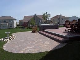 Backyards Ideas Patios Paver Patio Design Ideas Best Home Design Ideas Stylesyllabus Us