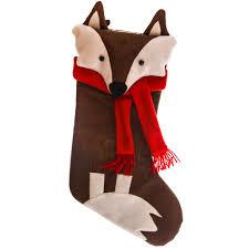 fox stocking woodland christmas cracker barrel old country