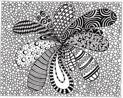coloring pages abstract art printable zentangle inspired 591046