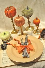 trend decoration dinner table cloth engaging autumn fall