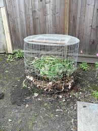 Home Design Garden Architecture Blog Magazine Diy Compost Bin From Hardware Cloth Home Design Garden