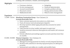 accounts payable resume format accounts receivable resume templates brianhans me