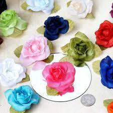 silk ribbon roses 12pcs turquoise mini silk ribbon tableclothsfactory
