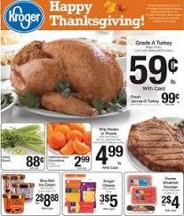 kroger ad november 20 november 28 2013 thanksgiving grade a turkey