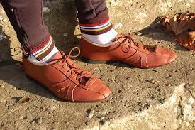 leather bike shoes tan leather arturo shoes
