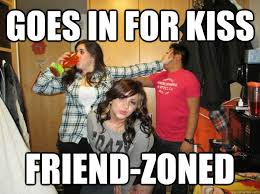 Rejected Meme - goes in for kiss friend zoned rejected asian kid quickmeme
