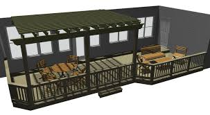 Pergola Deck Designs by Central Ga Unique Deck Designs Archadeck Of Central Ga
