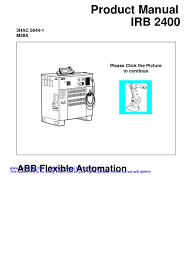 abb s4c product manual irb 2400 3hac 5644 1 m98a operating