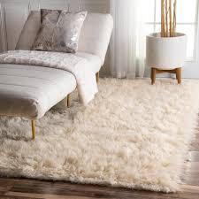 shag flokati rugs wayfair moroccan mekenes ivory black area rug
