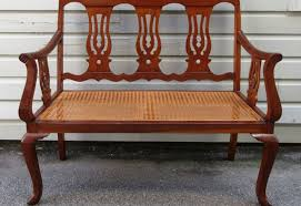 bench cane bench stylish seagrass bench u201a beguiling antique caned