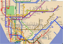 Nyc Subway Map Directions by Jfk Subway Map My Blog