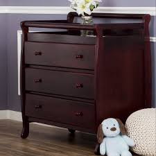 dream on me changing table white dream on me liberty collection 3 drawer changing table cherry