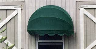 Cloth Window Awnings Dome Shaped Sunbrella Fabric Window Awnings