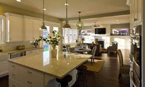 contemporary traditional kitchen design black wood island