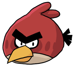 draw angry birds feltmagnet