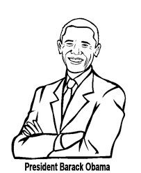 president obama coloring page exprimartdesign com