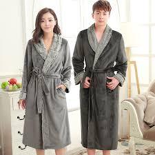 robe de chambre homme luxe nouveaux amants de luxe fourrure douce molleton chaud salon