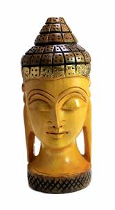 160 best wooden statues images on pinterest wooden statues hand sku no wooden buddha statue 618 hand carved wooden ethnic antique buddha head statue