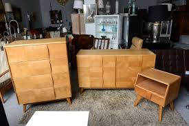 Heywood Wakefield Buffet Credenza by Heywood Wakefield Bedroom Set At 1stdibs