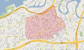 Ohio City Map Happy Hour Cleveland