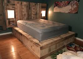 Pallet Platform Bed 59 Creative Wood Pallet Ideas Diy Pictures Designing Idea