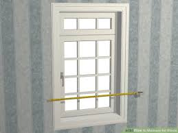 How To Measure A Roller Blind How To Measure For Blinds 6 Steps With Pictures Wikihow