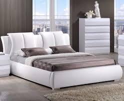 Leather Headboard Platform Bed Queen Size Platform Bed Wood Frame Leather Headboard Room