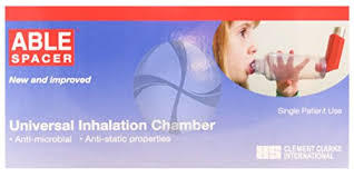 chambre inhalation b able spacer chambre d inhalation pour inhalateur universel milna