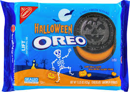 nabisco halloween oreo chocolate sandwich cookies 15 35 oz