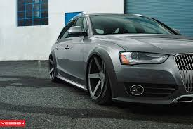 slammed audi wagon slammed audi a4 allroad on vossen wheels photo gallery 8 jpg 1600