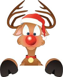 rudolph red nosed reindeer clip art vector images