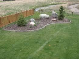 concrete lawn edging ideas
