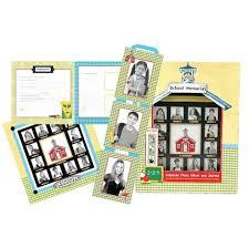 school days keepsake album school memories album keepsake album