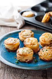 cuisine made in cheesy mini potato gratin stacks muffin tin food made