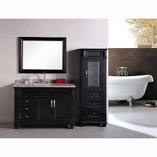 Espresso Vanity Bathroom Design Element Hudson 48