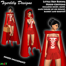 Red Riding Hood Halloween Costumes Marketplace Td Red Riding Hood Halloween